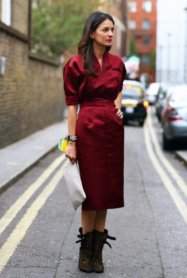 oxblood-dress
