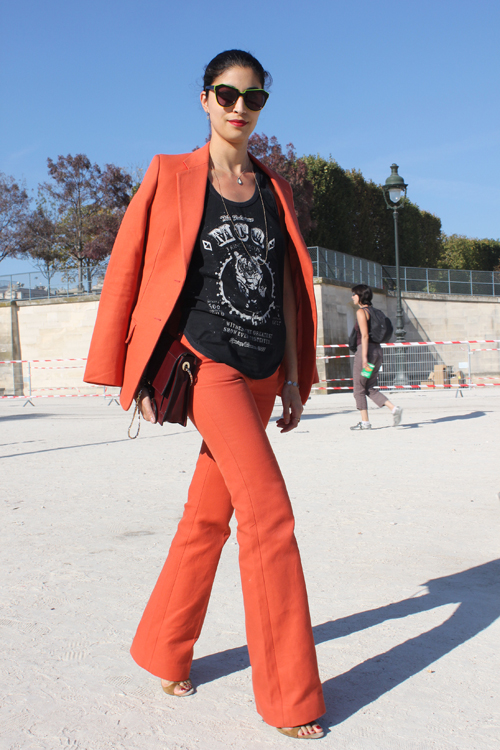 Street-Style-Orange-fashion-editor
