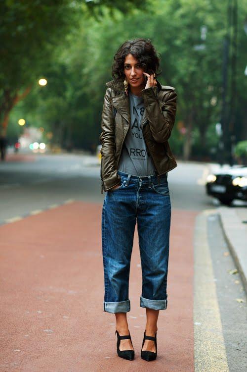 Boyfriend Jeans (Sartorialist)