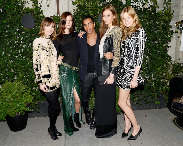 BALMAIN Dinner with Olivier Rousteing