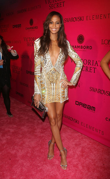 Joan-Smalls-Balmain-Victorias-Secret-Afterparty