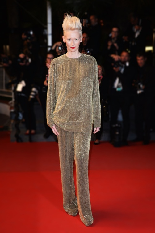 la-modella-mafia-2013-Cannes-Red-Carpet-best-dressed-fashion-Tilda-Swinton-in-Haider-Ackermann
