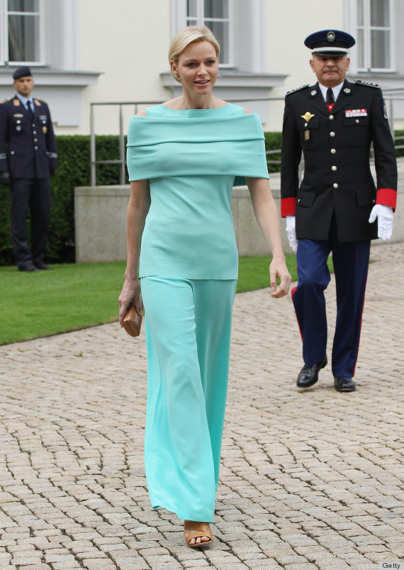 Prince Albert II of Monaco and Princess Charlene Arrival In Berlin