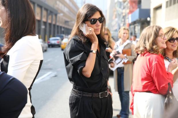 emanuelle alt new york fashion week 2014