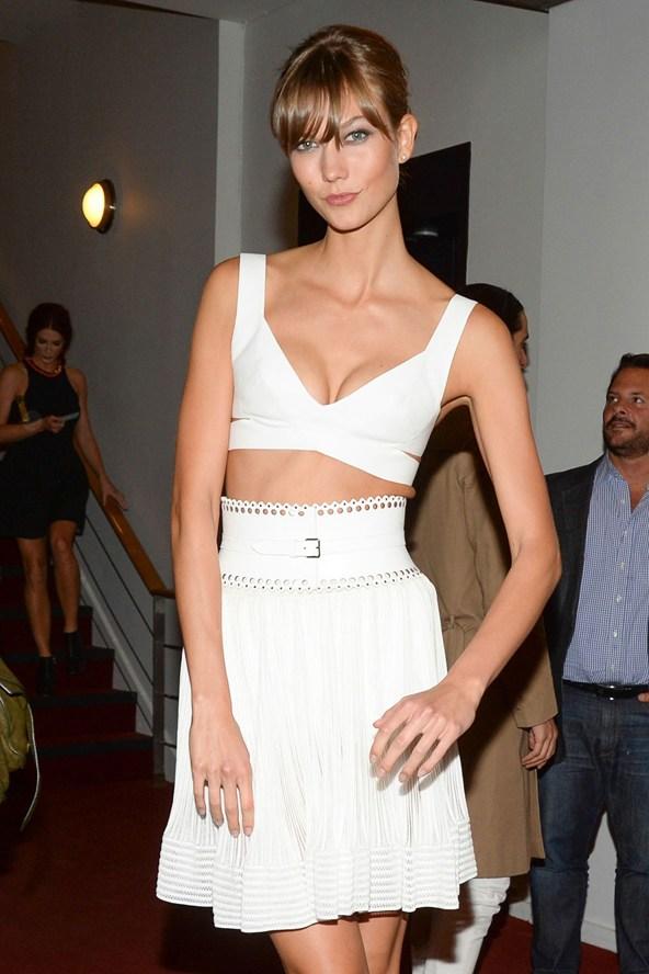 karlie kloss stylesnooperdan new york fashion week streetstyle