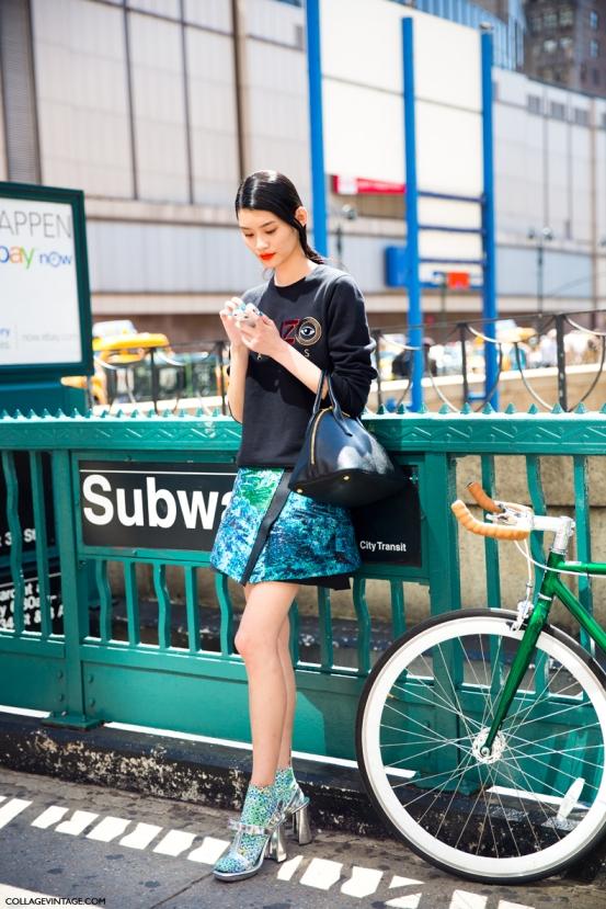 KENZO_SWEATSHIRT-MODEL-NYFW-SPRING_SUMMER_2014-STREET_STYLE-NEW_YORK_FASHION_WEEK-COLLAGE_VINTAGE-