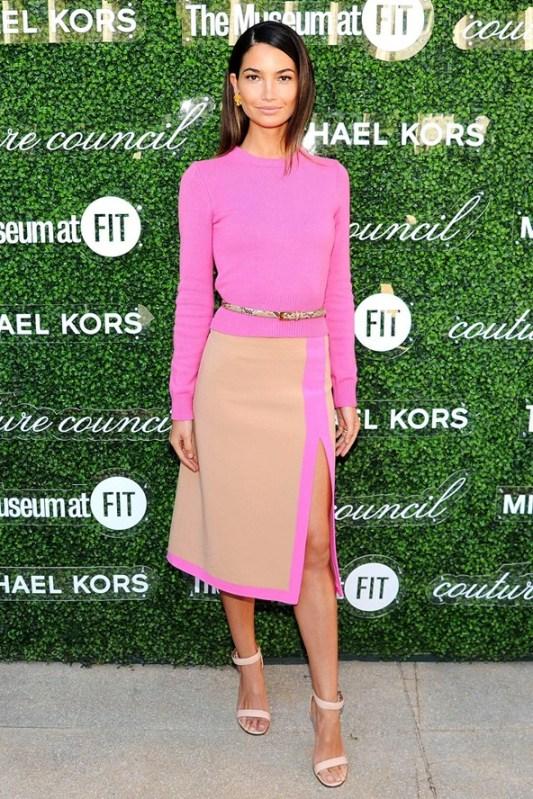 Lily Aldridge stylesnooperdan new york fashion week streetstyle