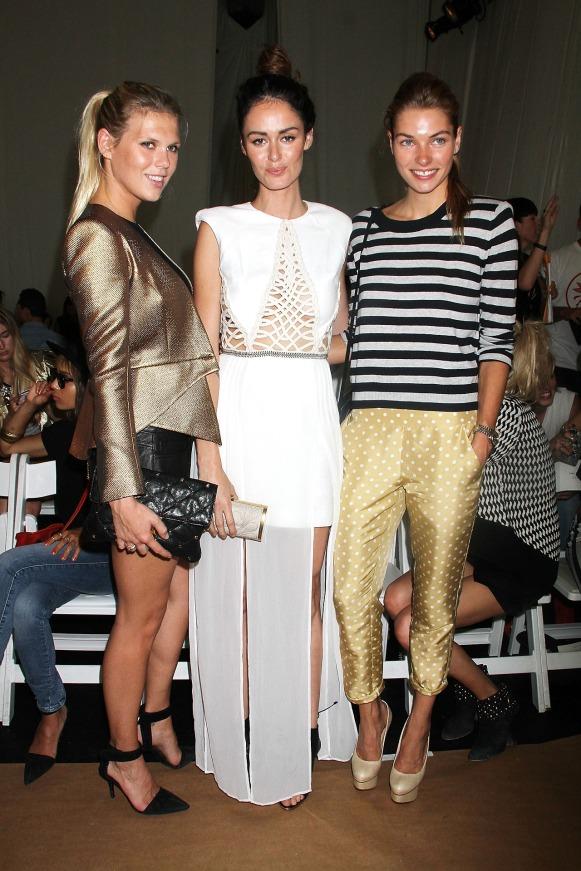 Sass & Bide - Front Row - Mercedes-Benz Fashion Week Spring 2014