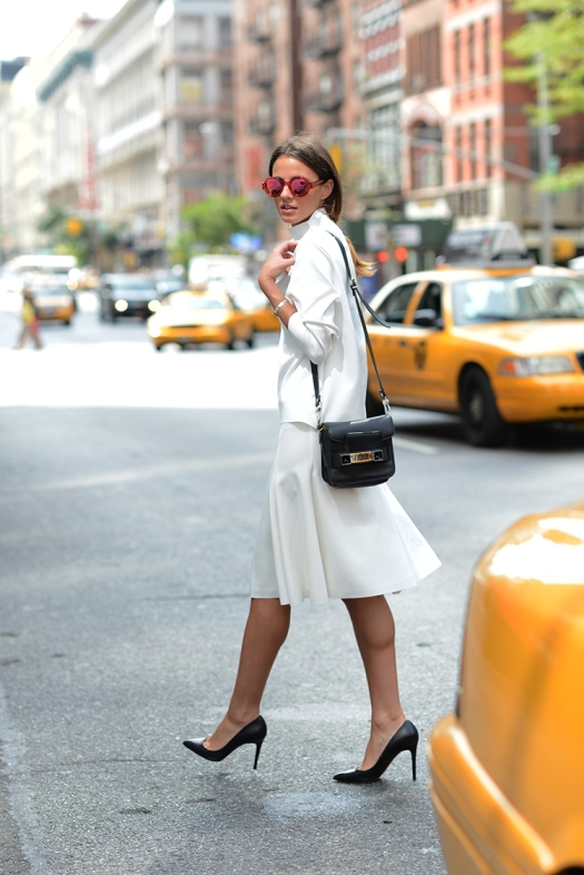 zina fashionvibe, charkoplia, new york, fashion week, louboutin shoes, proenza shcouler bag