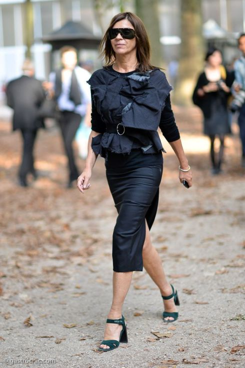 Carine Roitfeld at Hermes