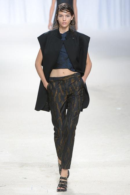 midriff style fashion week stylesnooperdan