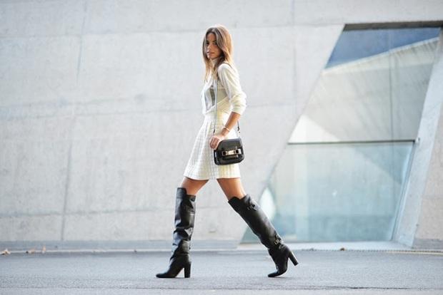 off white, knee boots, zina charkoplia, proenza schouler bag