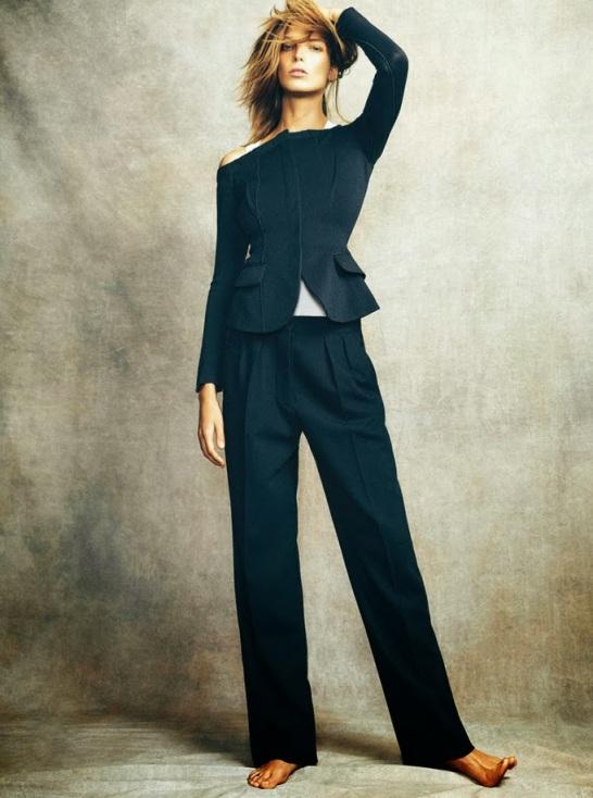 Daria Werbowy for Madame Figaro Nov 2013 i