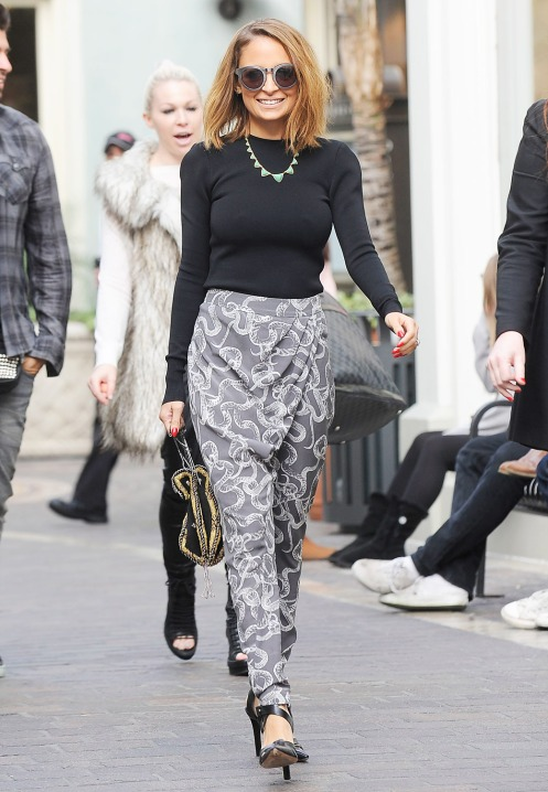 Nicole Richie Style Stylesnooperdan