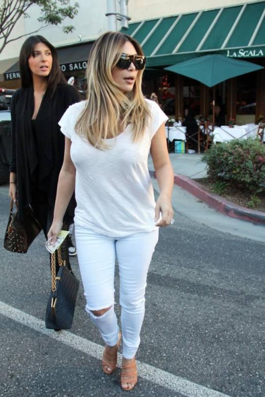 Carine Roitfeld Kim Kardashian Stylesnooperdan
