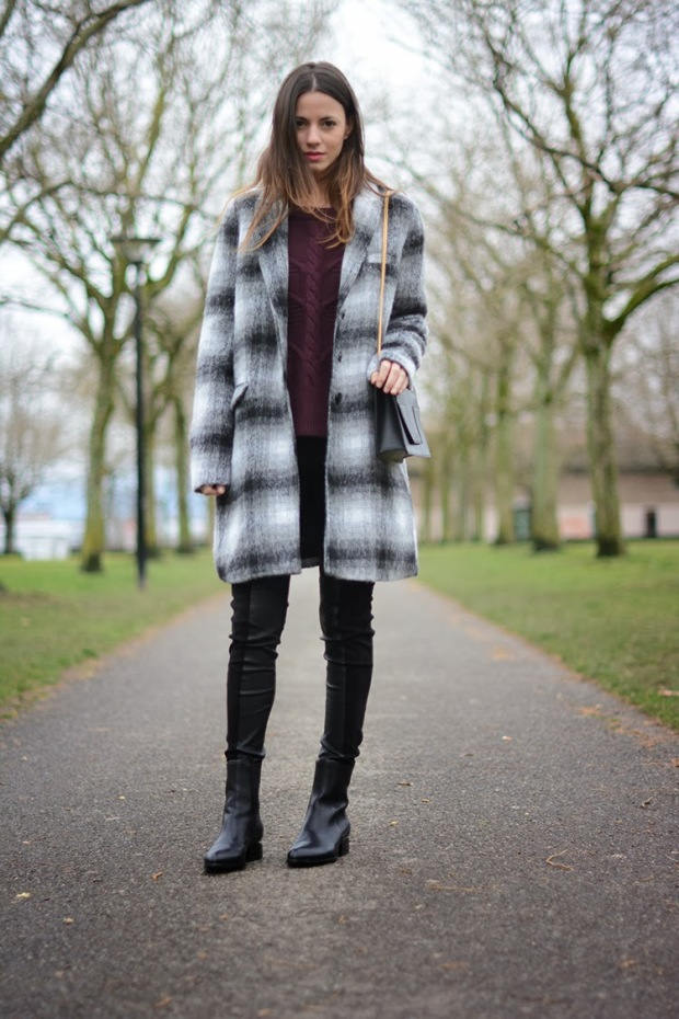 geneva, alexander wang boots, leather pants, zara, cold, park